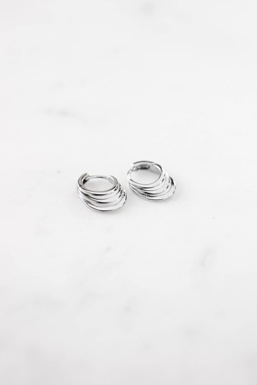 """Taz"" earrings - Silver WOMANCE"