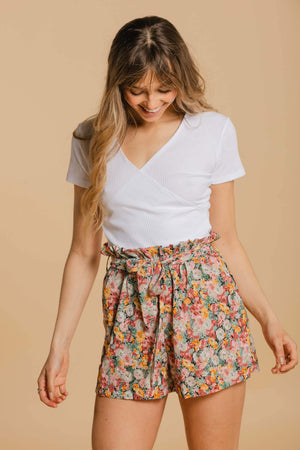 WOMANCE floral short pants