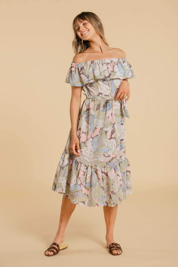 WOMANCE Off Shoulder Dress