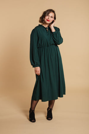 Long dress - Emerald