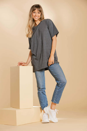 Oversized T-Shirt - Dark Gray