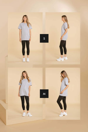 T-shirt oversize - Blanc Chandail WOMANCE - Distribution