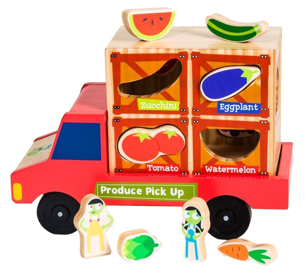 PBS Kids: Produce Pick-Up: Matching Toy & Vehicle Play Set