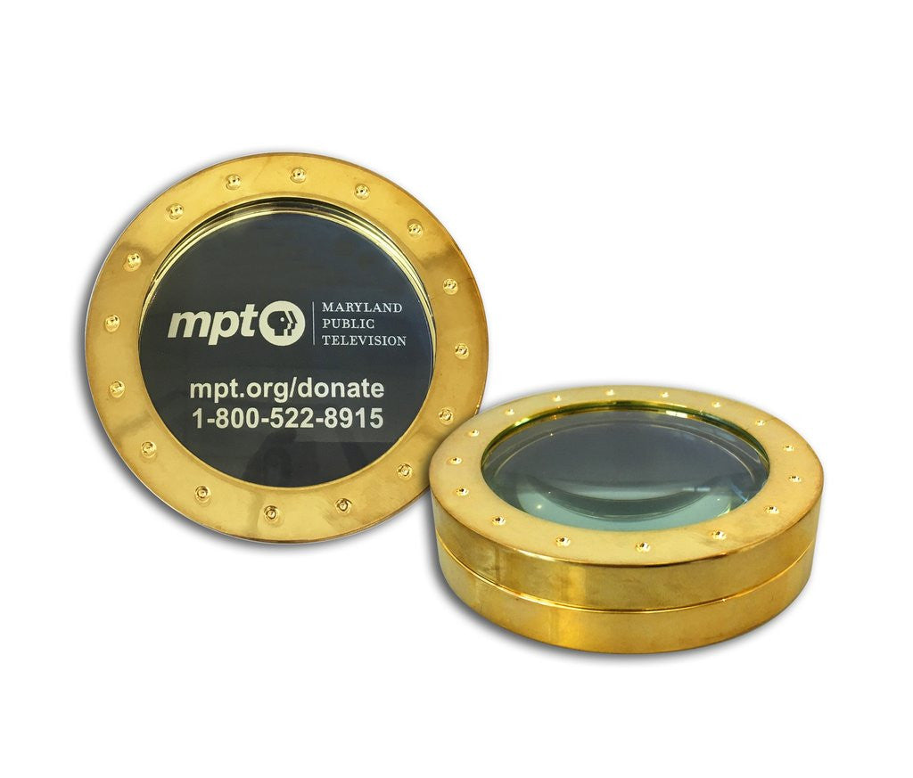MPT Magnifying Glass Paperweight