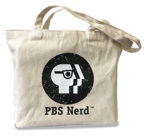 PBS Nerd™ Cotton Zippered Tote Bag