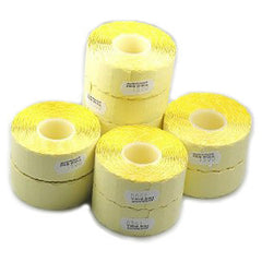 Sato 2612 Pricing Gun Labels White / Yellow peelable