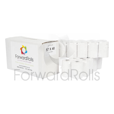 57 x 40mm Thermal Till Rolls
