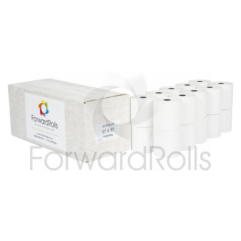 57 x 57mm Thermal Till Rolls