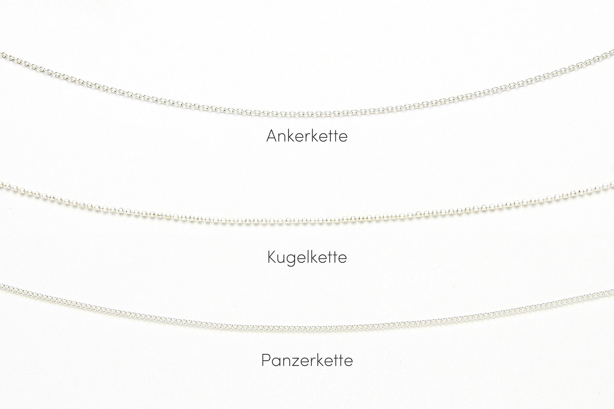 Kette MY LOVE DOUBLE 925 Sterling Silber