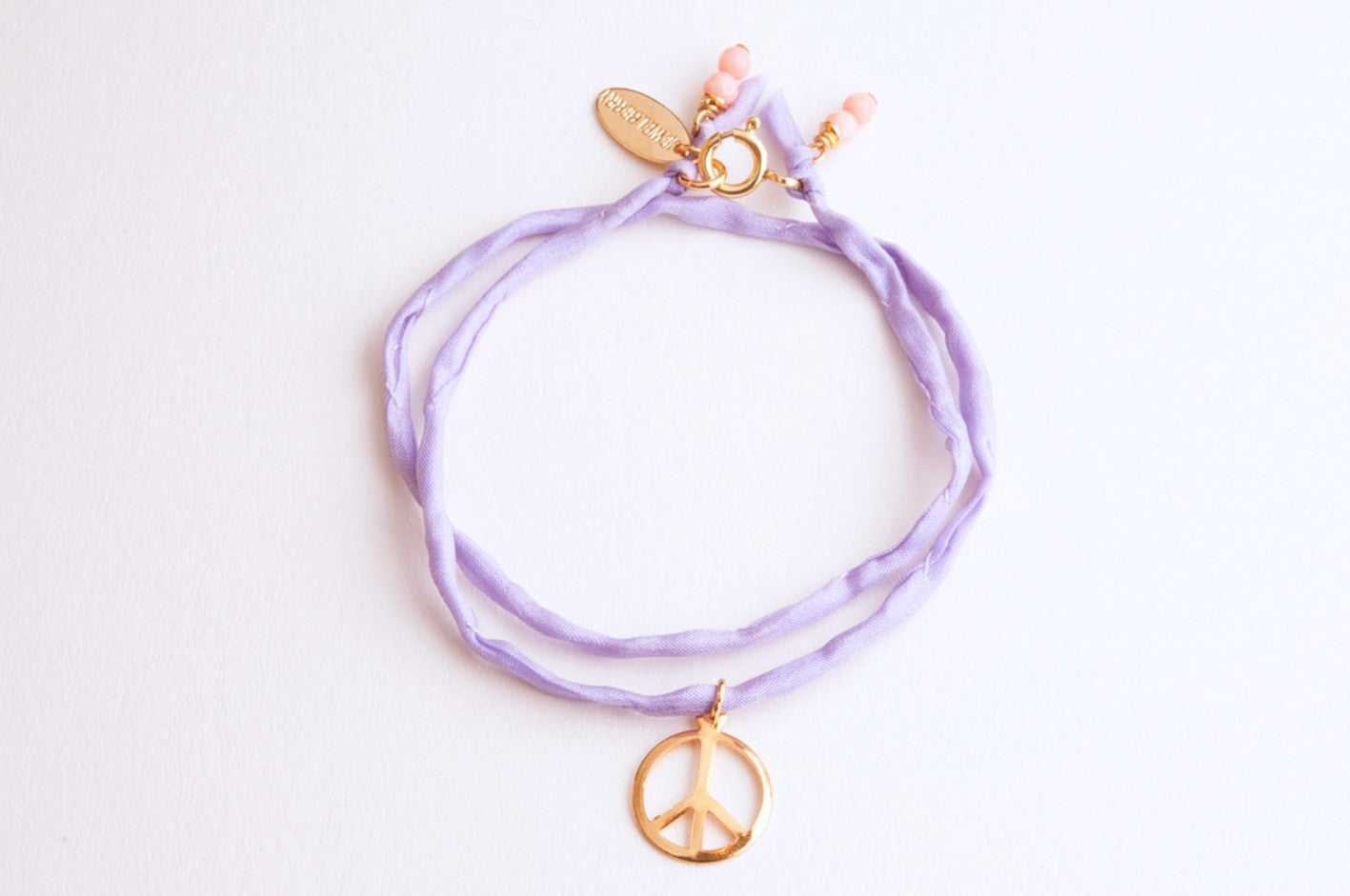 ....Charity Armband Jewelberry for Almaterra PEACE vergoldet..Charity Bracelet Jewelberry for Almaterra PEACE gold plated....