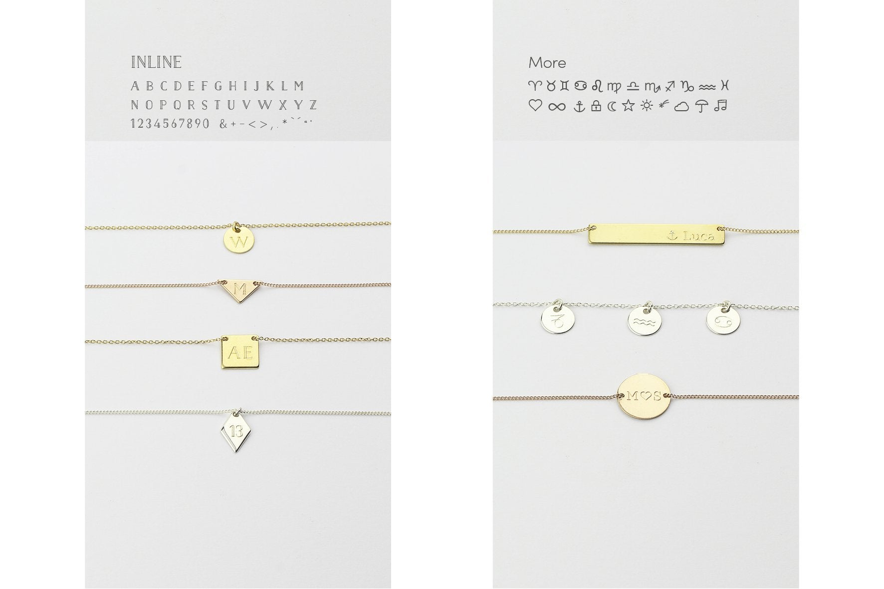"Kette ""Long Bar"" gold"