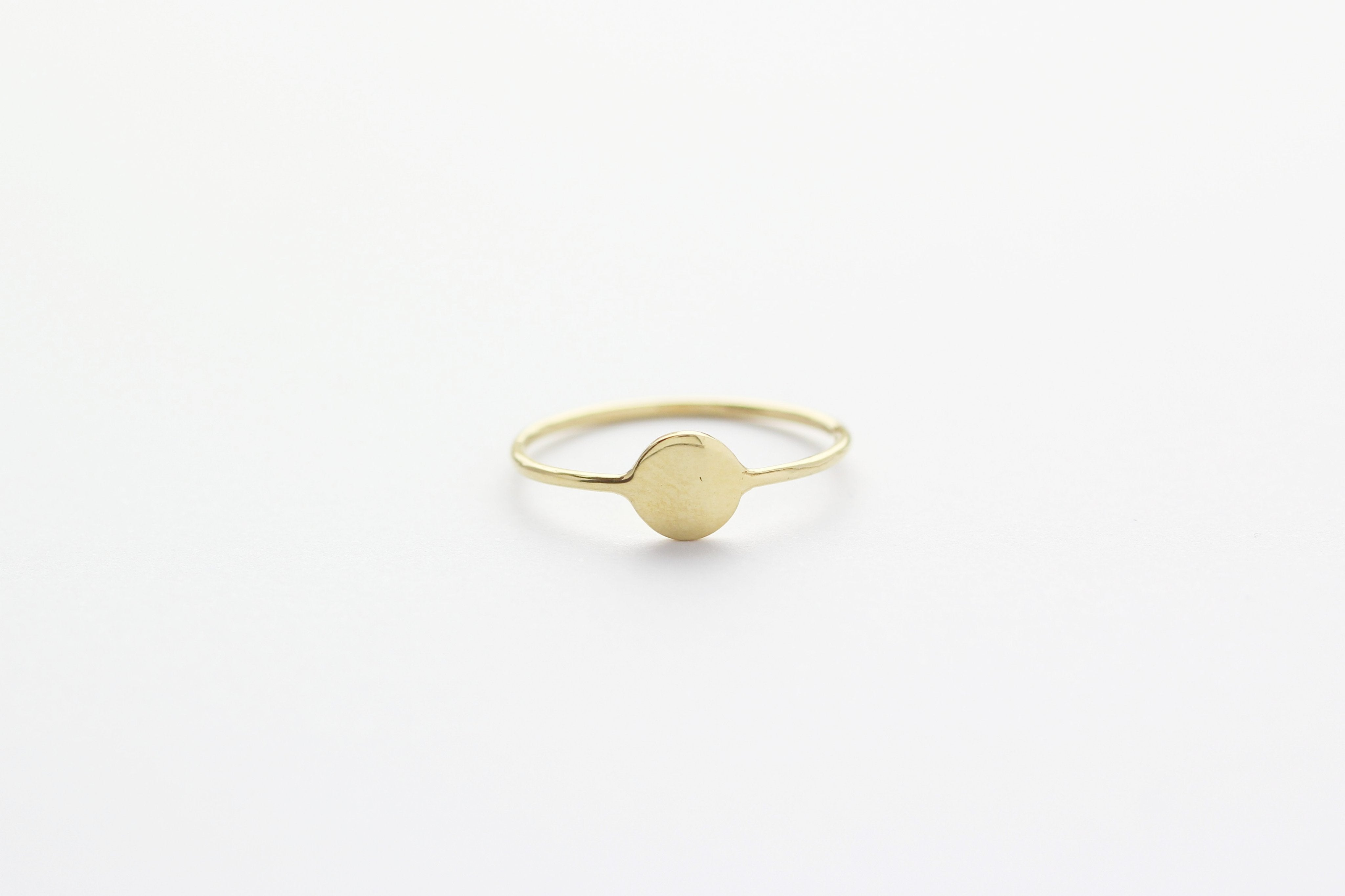Ring TINY DISC Gold