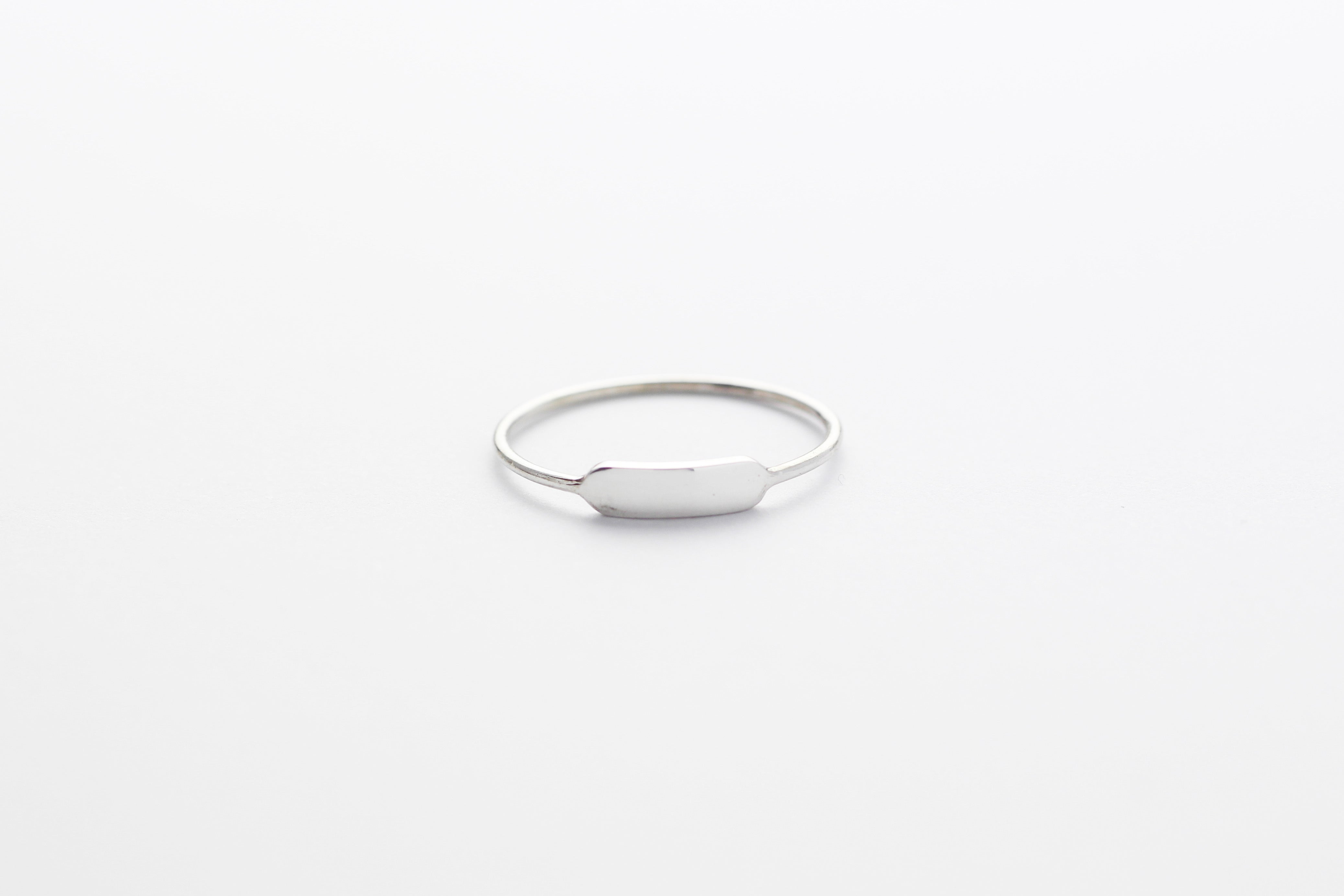 Ring TINY BAR Silber