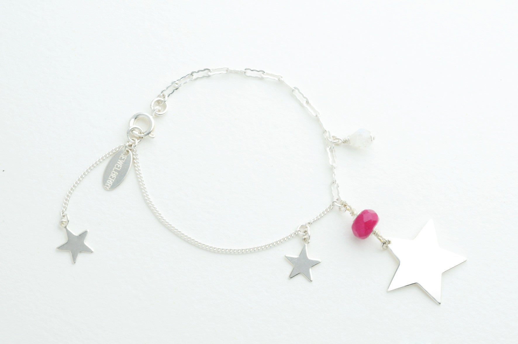 Armband BIG STAR versilbert