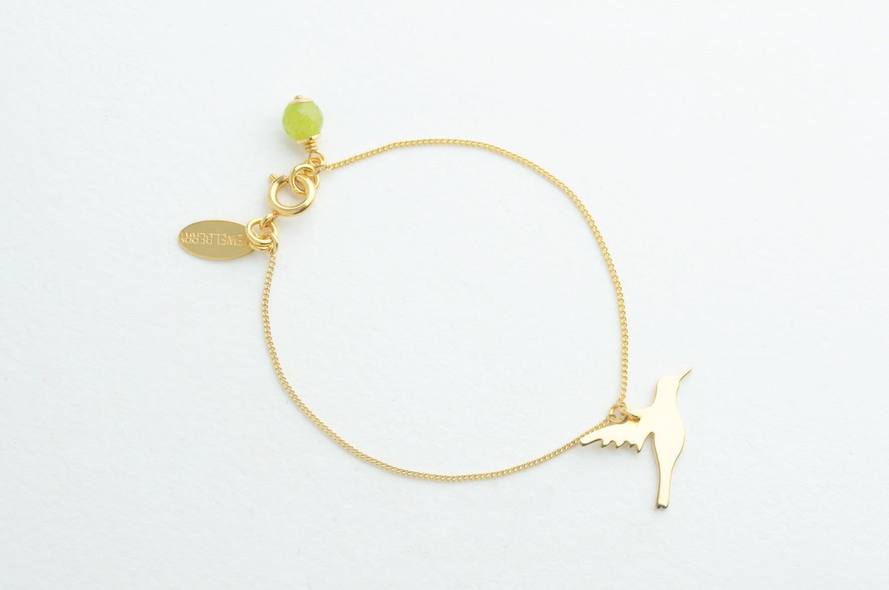 ....Armband CUT OUT HUMMINGBIRD vergoldet..Bracelet CUT OUT HUMMINGBIRD gold plated....