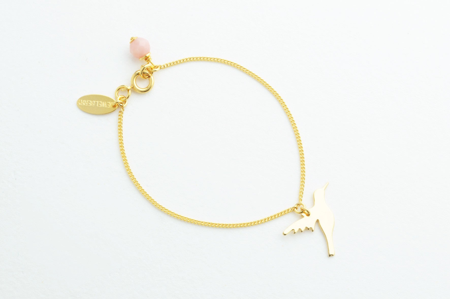 Armband CUT OUT HUMMINGBIRD vergoldet