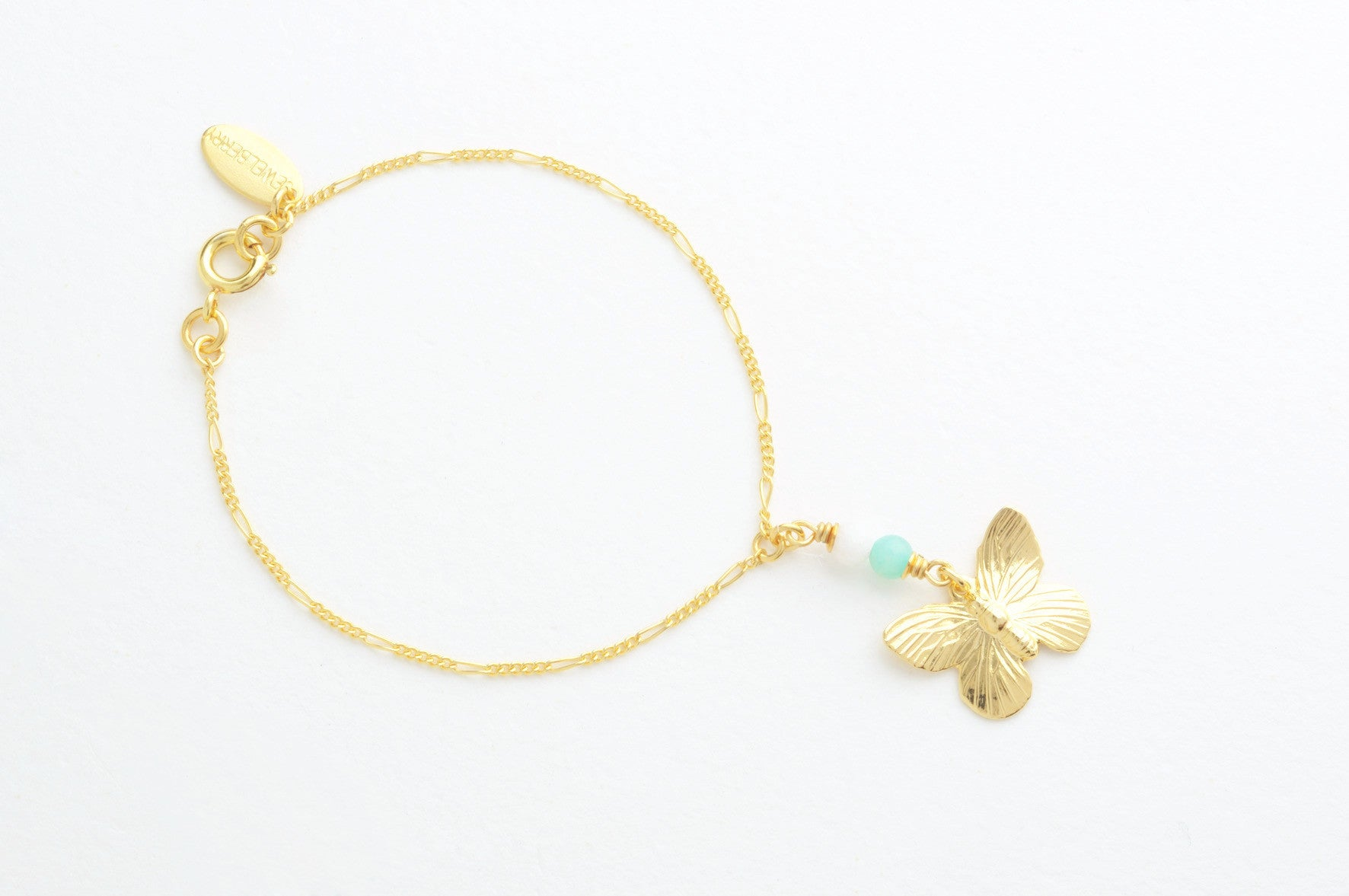 Armband SMALL BUTTERFLY vergoldet