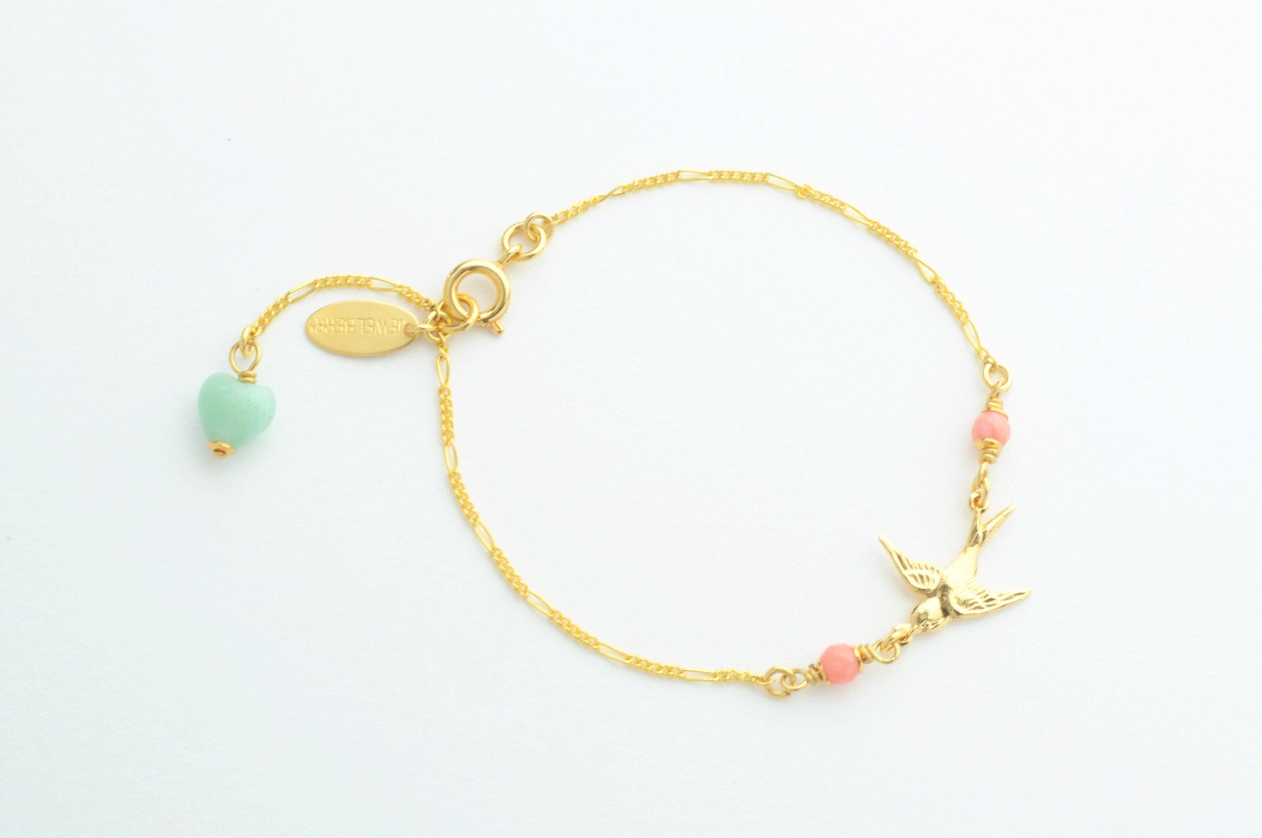 Armband SMALL SWALLOWS vergoldet
