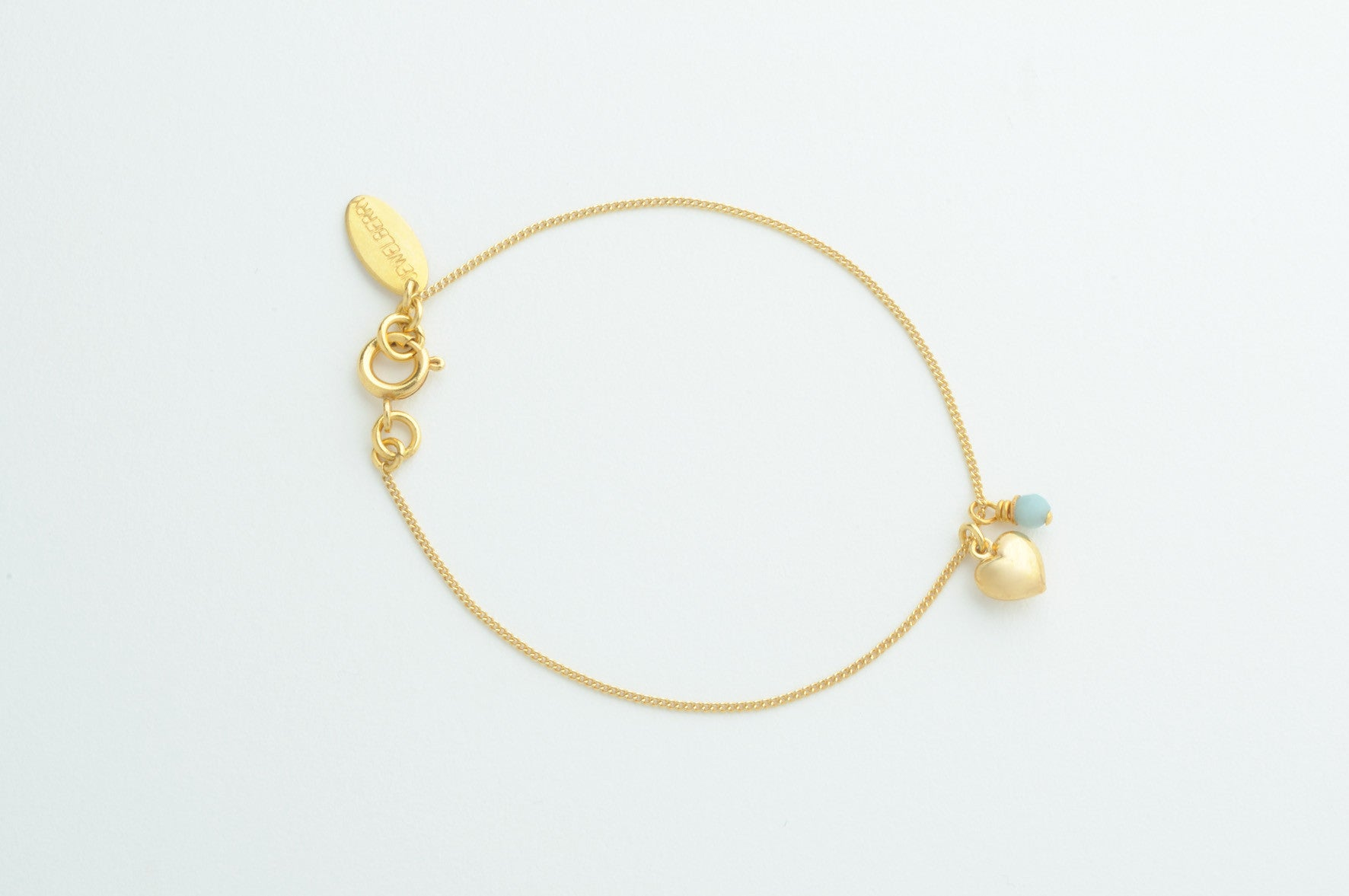 ....Armband PUFFED HEART vergoldet..Bracelet PUFFED HEART gold plated....