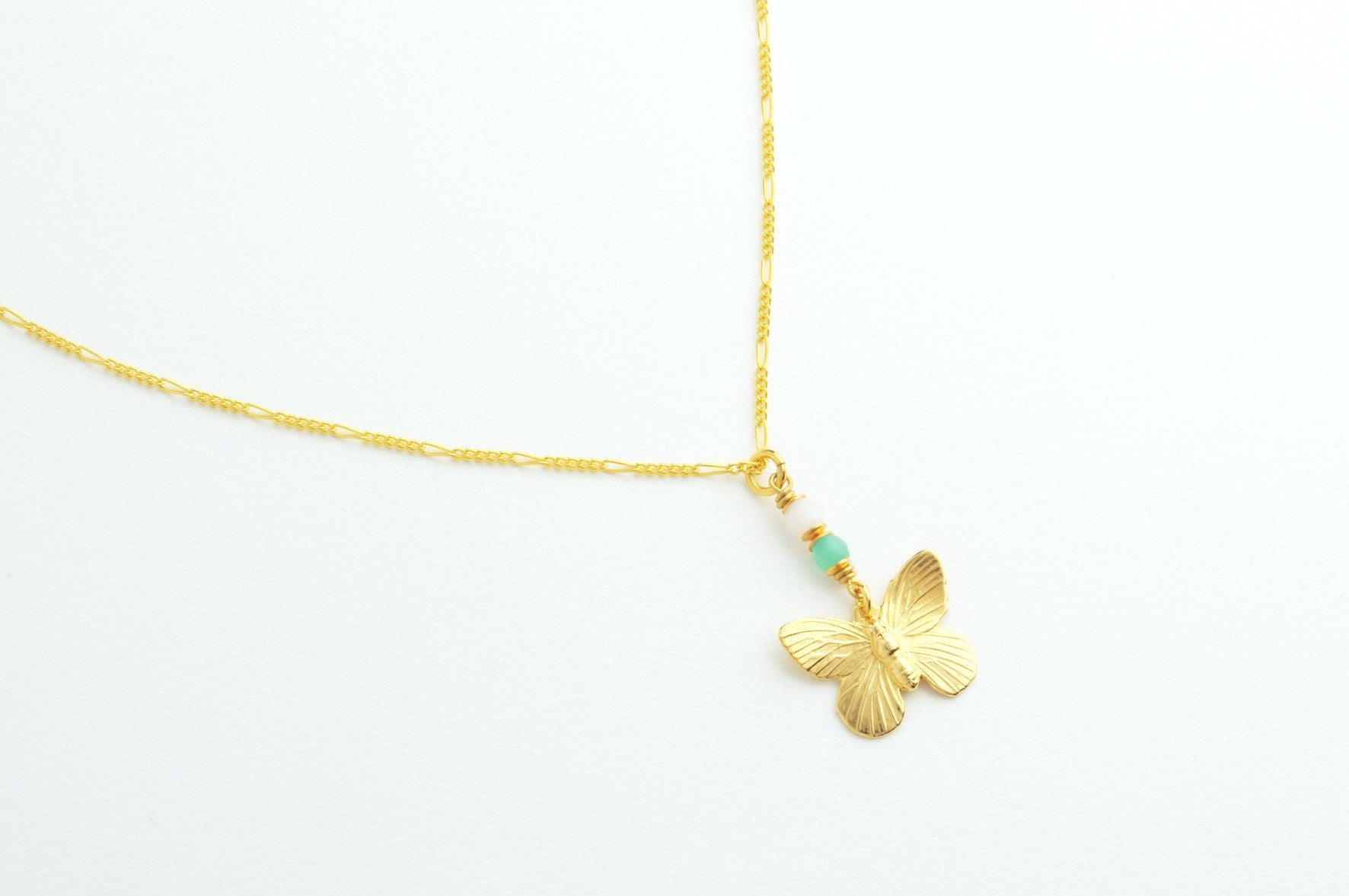 ....Kette SMALL BUTTERFLY vergoldet..Necklace SMALL BUTTERFLY gold plated....