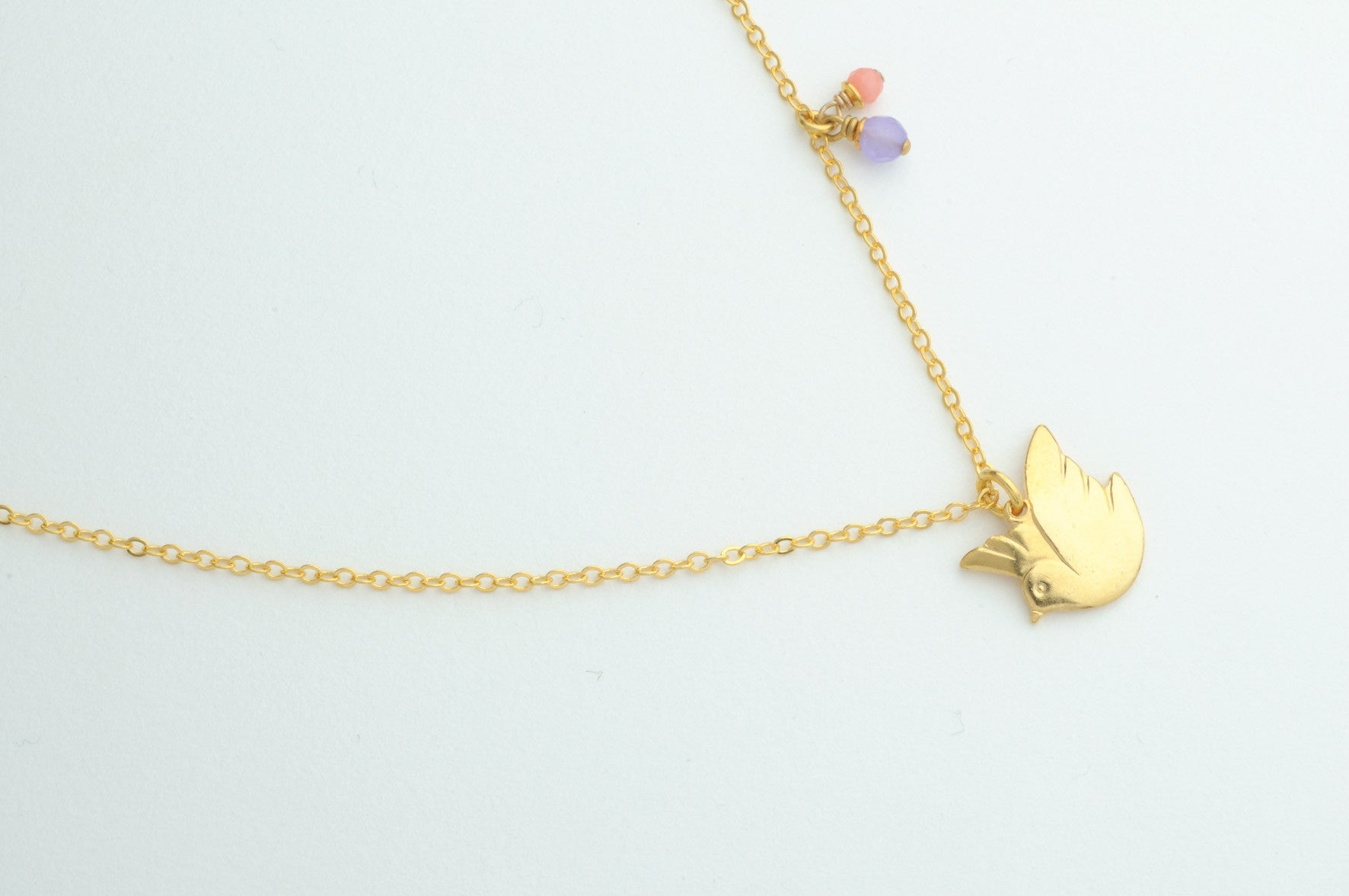 Kette PEACE DOVE vergoldet