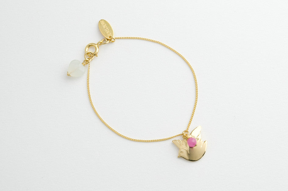 Armband PEACE DOVE vergoldet