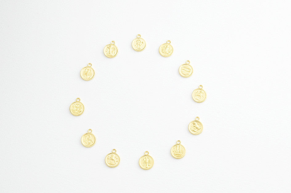 ....Kette HOROSCOPE SMALL vergoldet..Necklace HOROSCOPE SMALL gold plated....