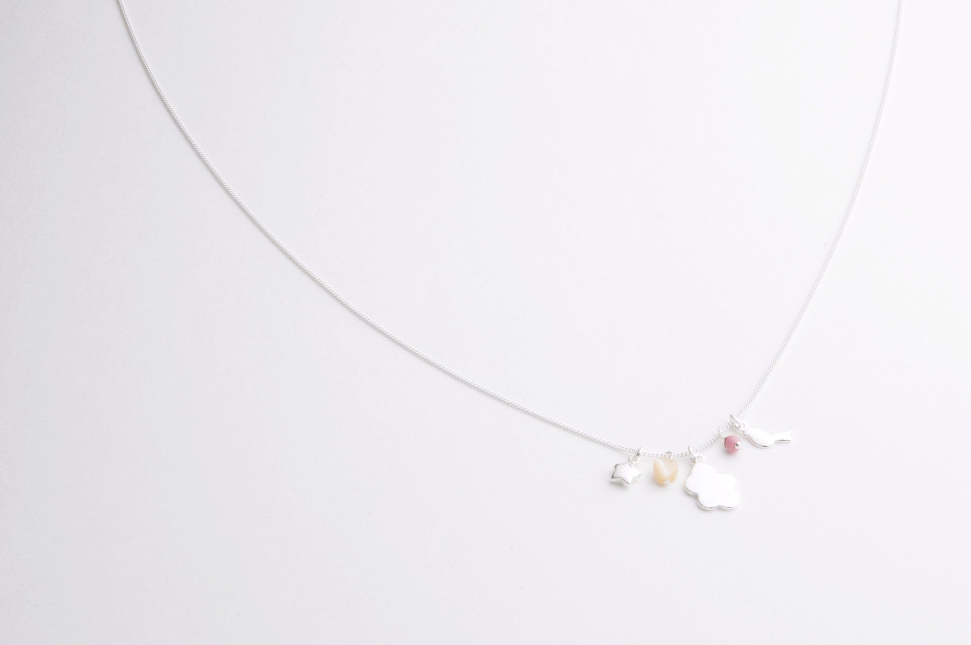 ....Kette SKY versilbert..Necklace SKY silver plated....