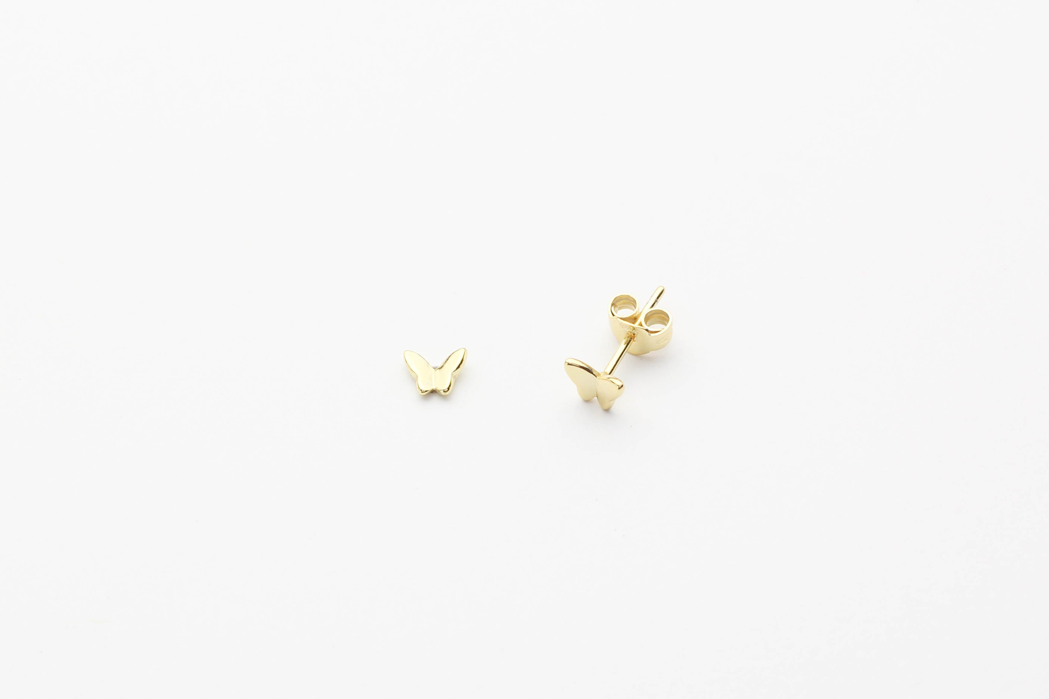 "Ohrstecker ""Tiny Butterfly"" gold"
