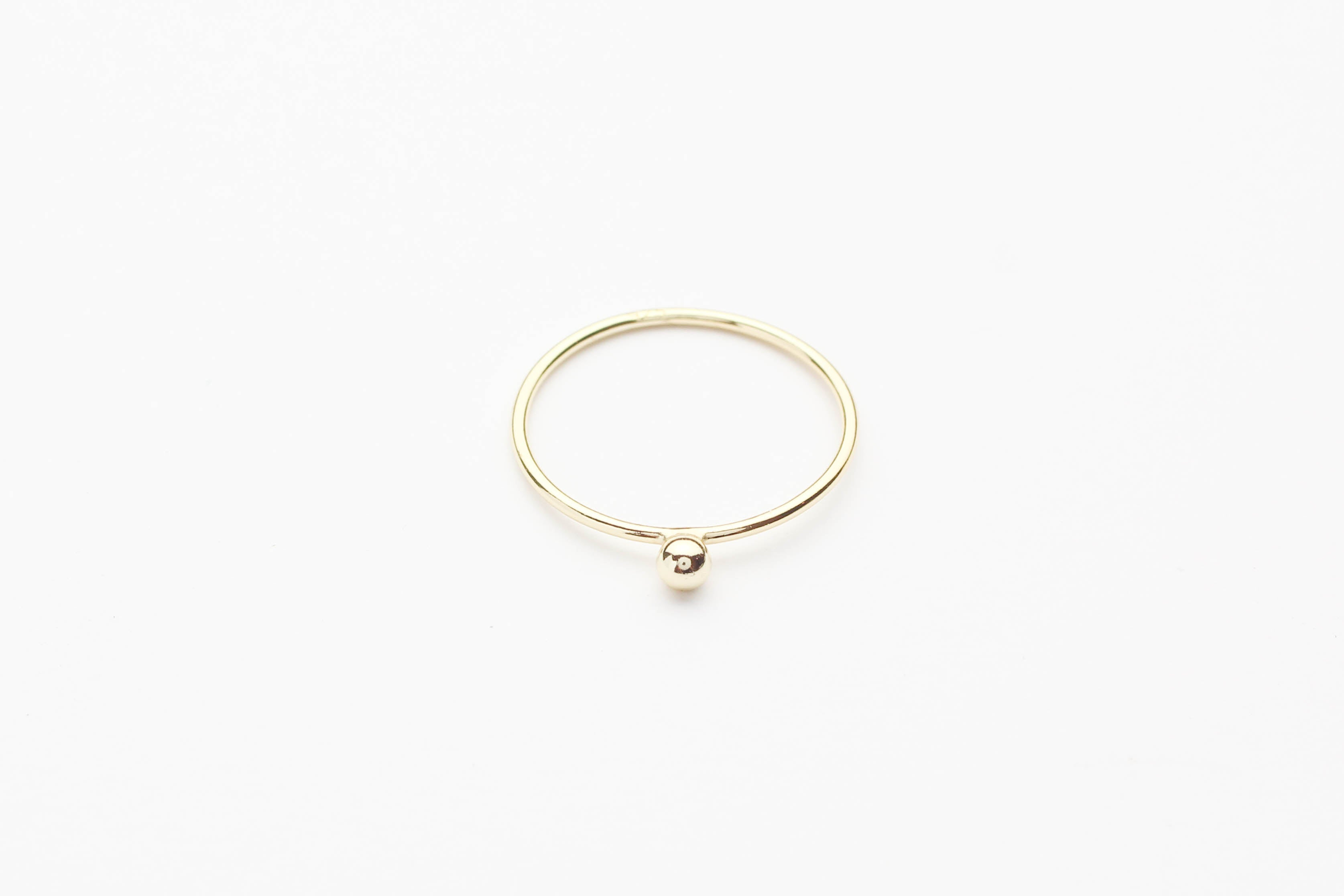 "Ring ""Single Pearl"" gold"