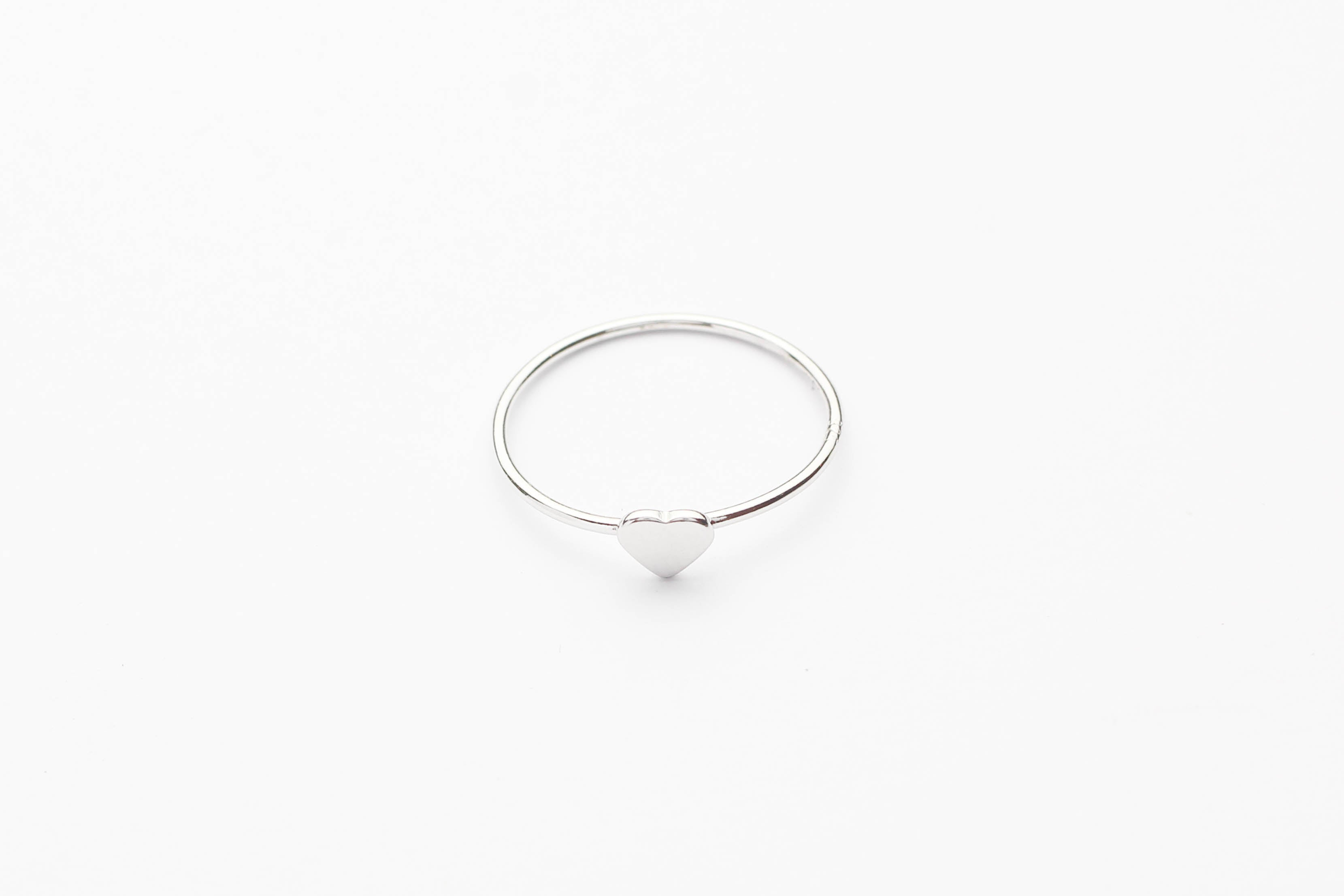 "Ring ""Tiny Heart"" silber"