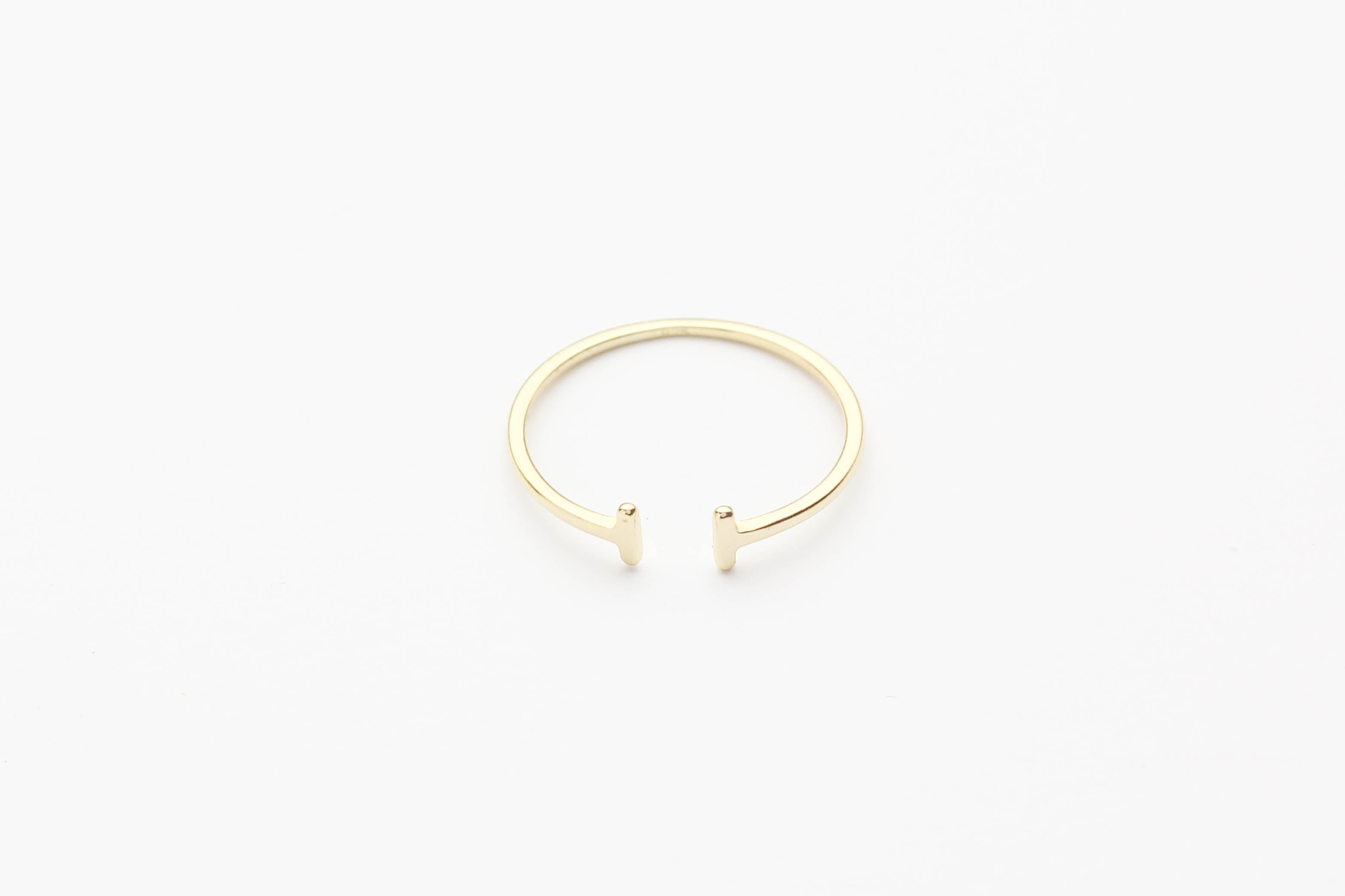 "Ring ""Double T"" gold"