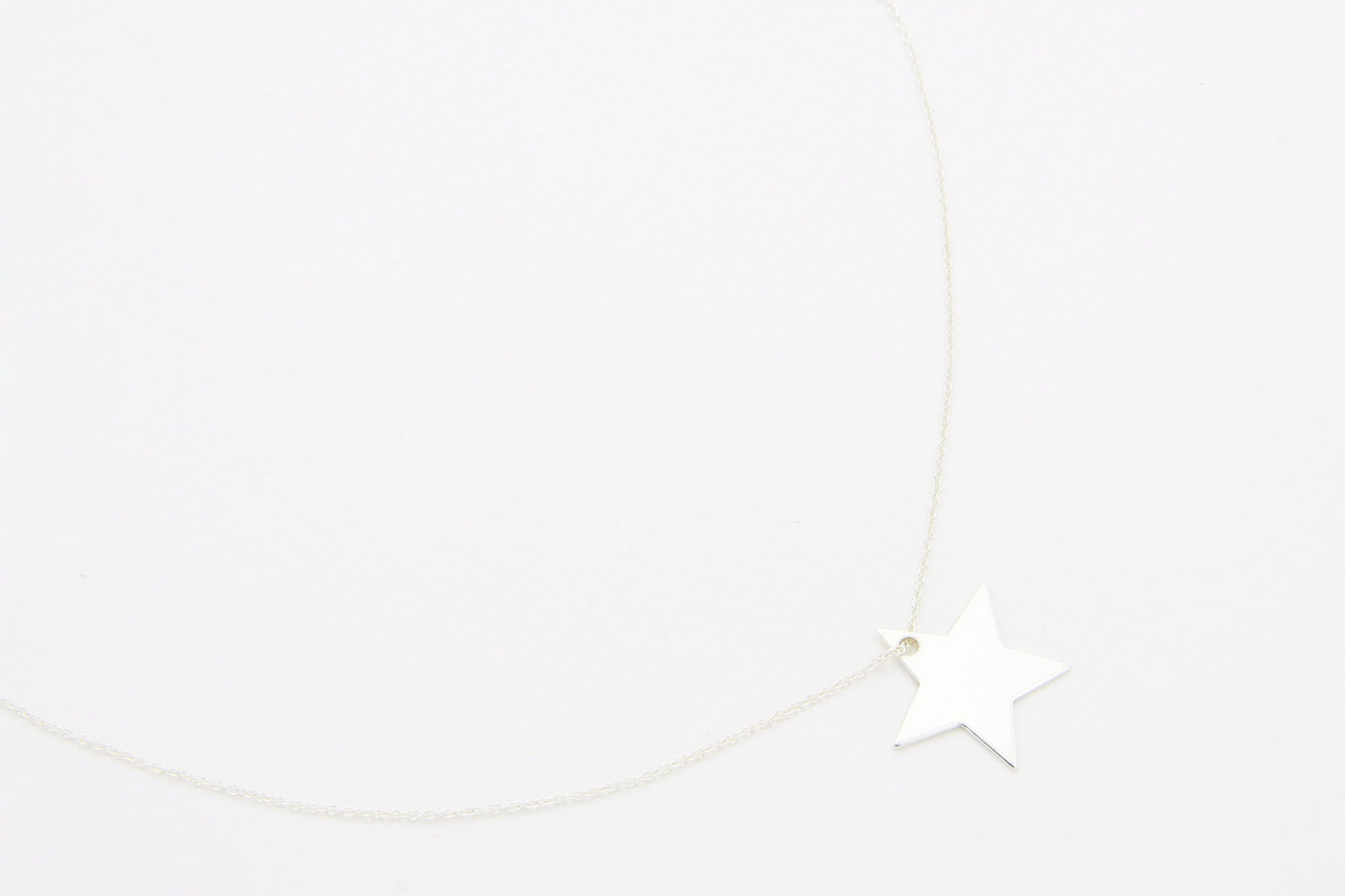 Kette PLAIN STAR MEDIUM 925 Sterling Silber