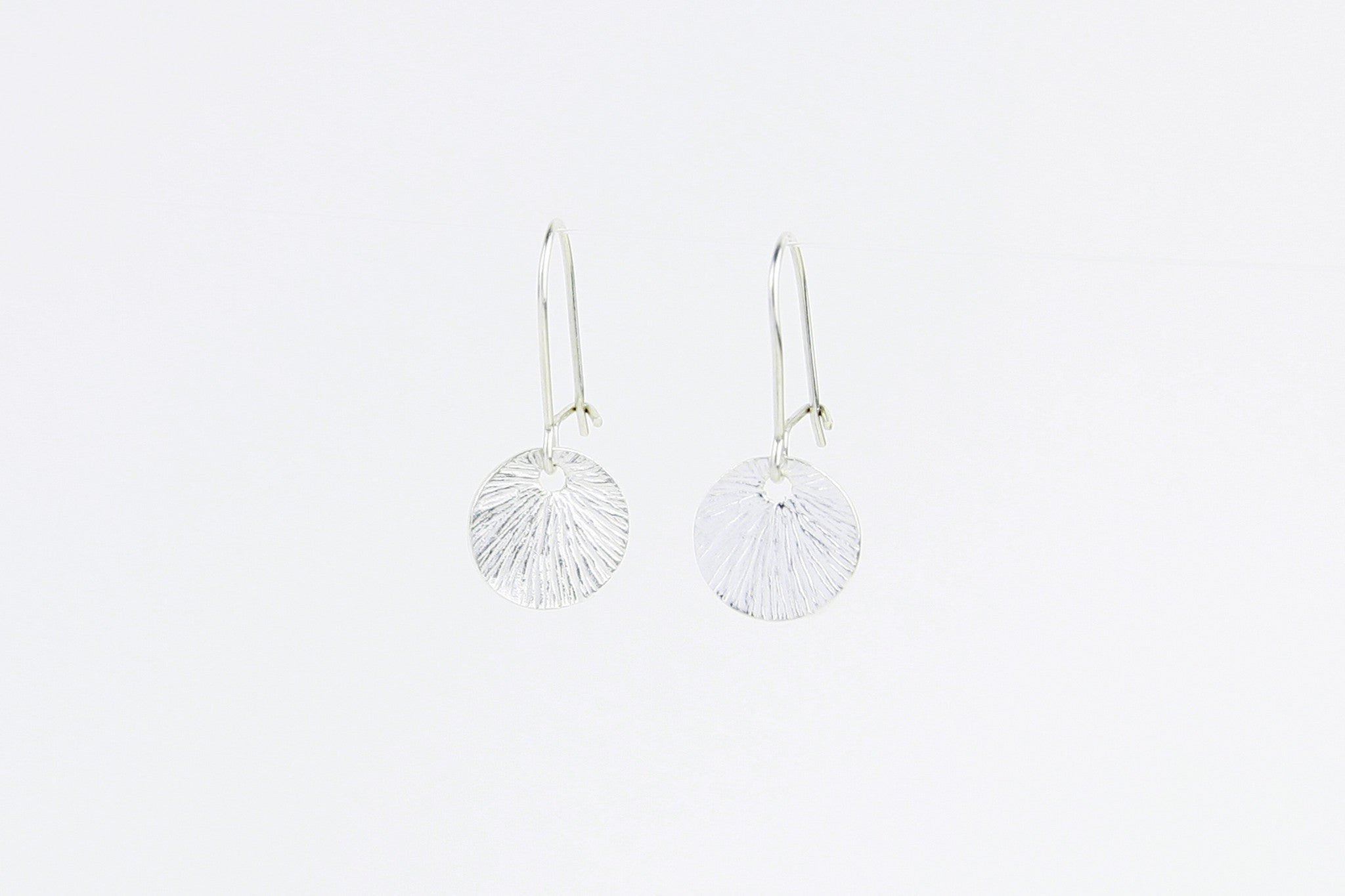 Ohrringe SMALL SHELL 925 Sterling Silber