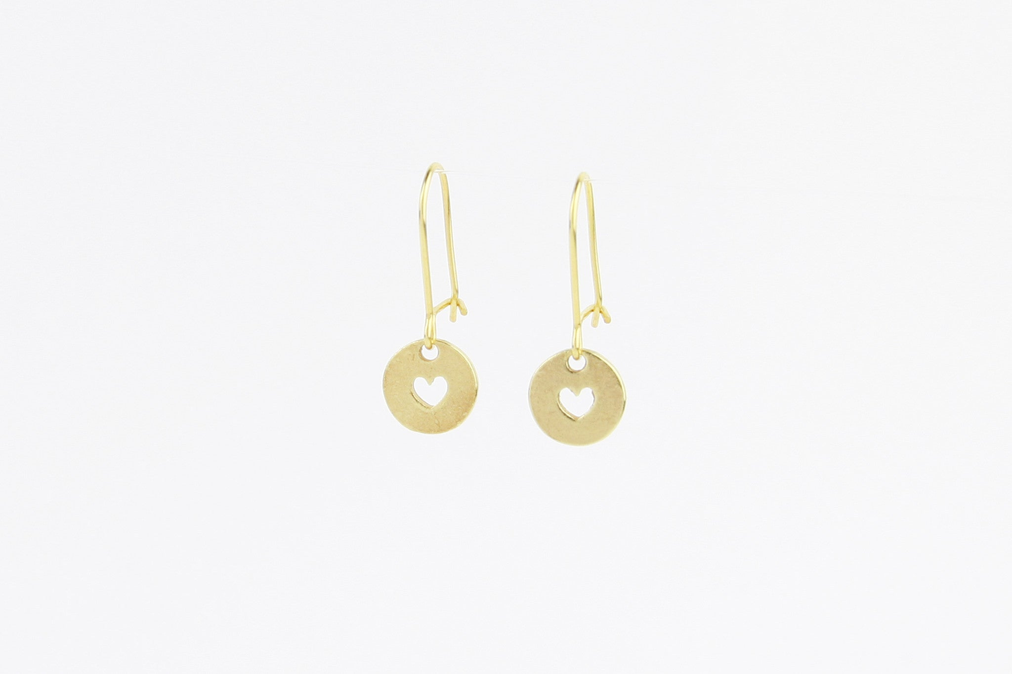 jewelberry ohrringe earrings love token yellow gold plated sterling silver fine jewelry handmade with love fairtrade