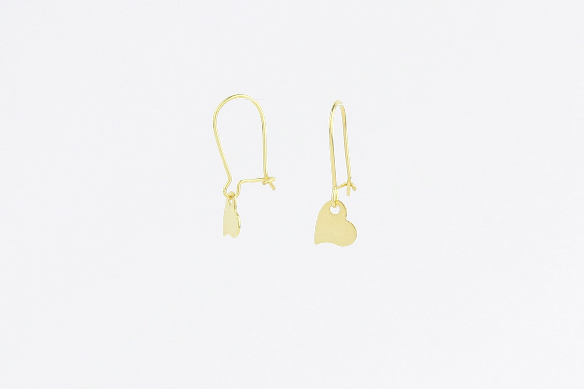 jewelberry ohrringe earrings my love yellow gold plated sterling silver fine jewelry handmade with love fairtrade