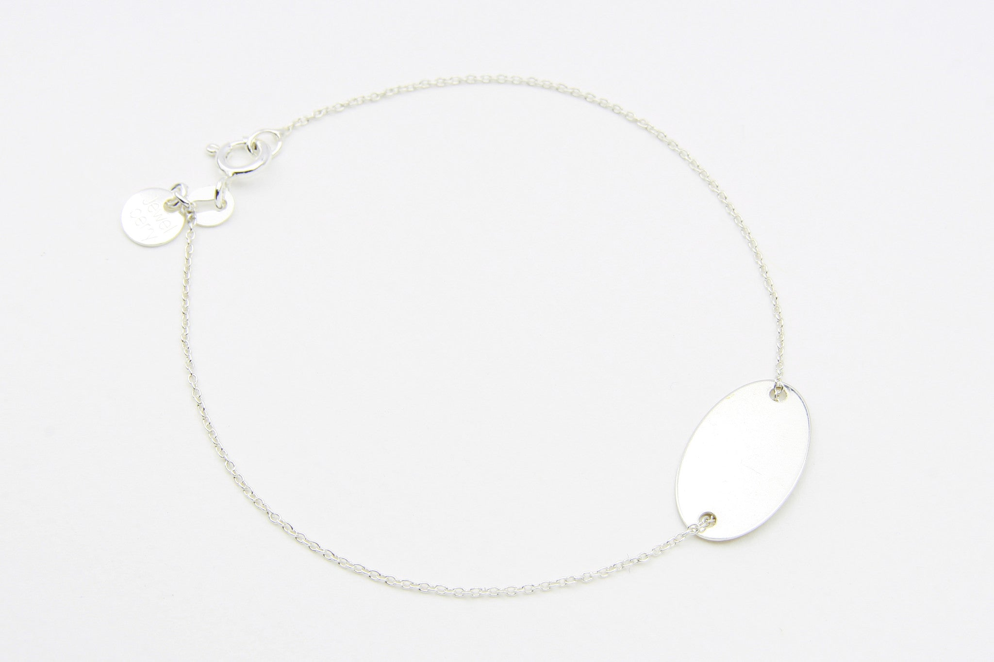 Armband DOUBLE DISC OVAL 925 Sterling Silber