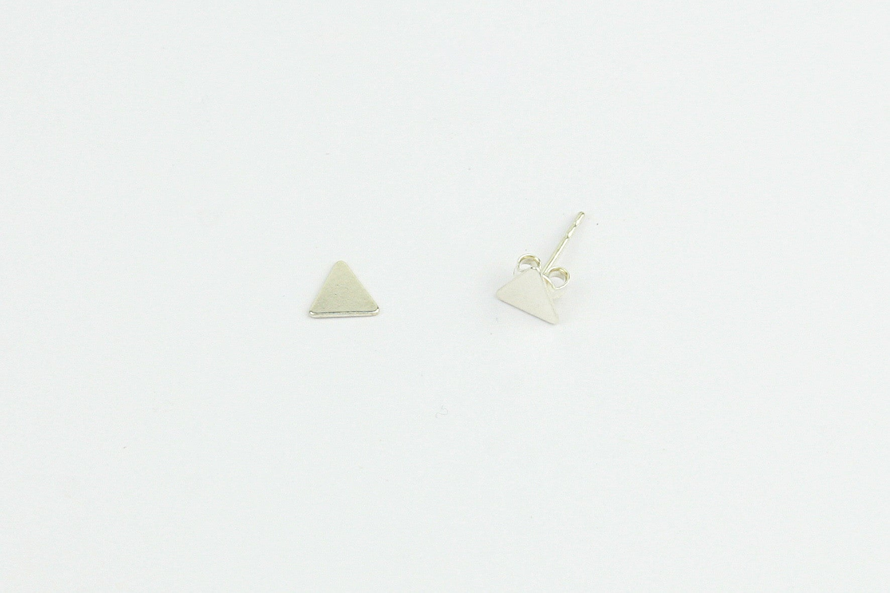 Ohrstecker TRIANGLE 925 Sterling Silber