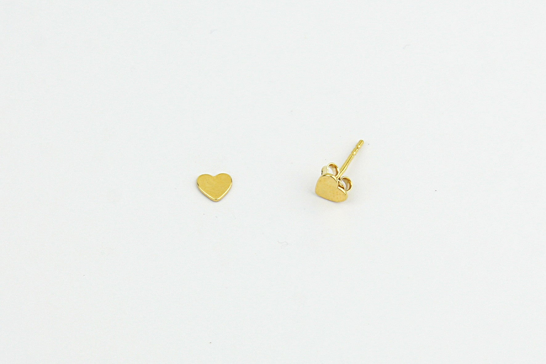 "Ohrstecker ""Tiny Heart"" gold"