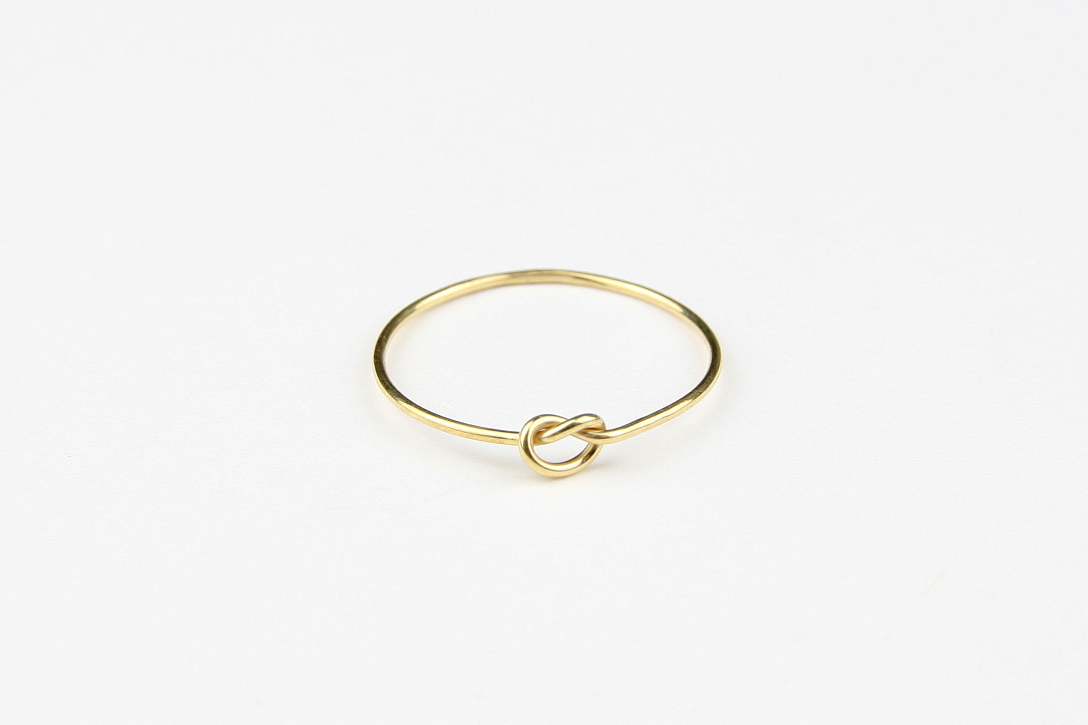 Ring KNOT gold