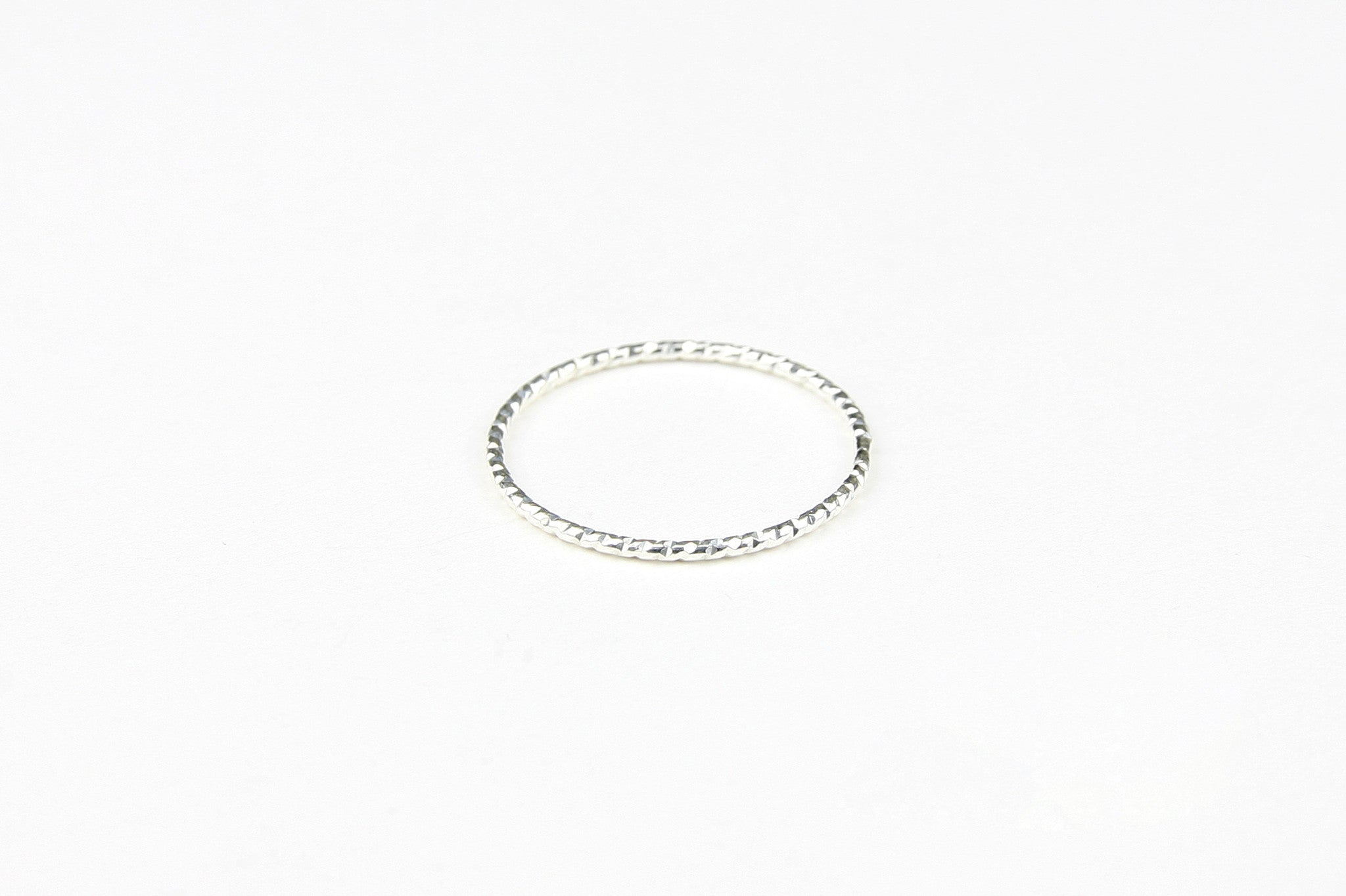"Ring ""Shiny Circle"" silber"