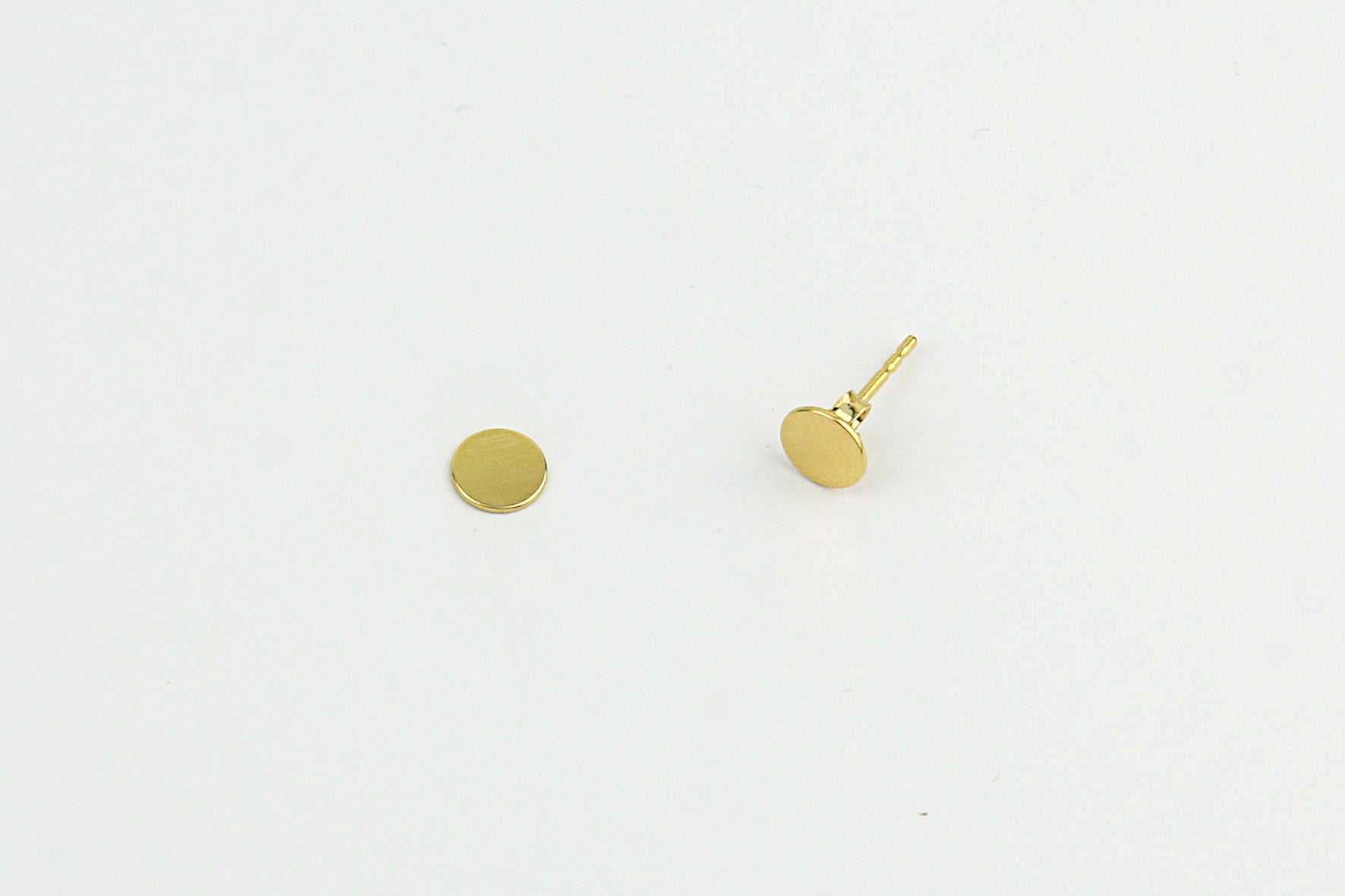 "Ohrstecker ""Tiny Disc"" gold"