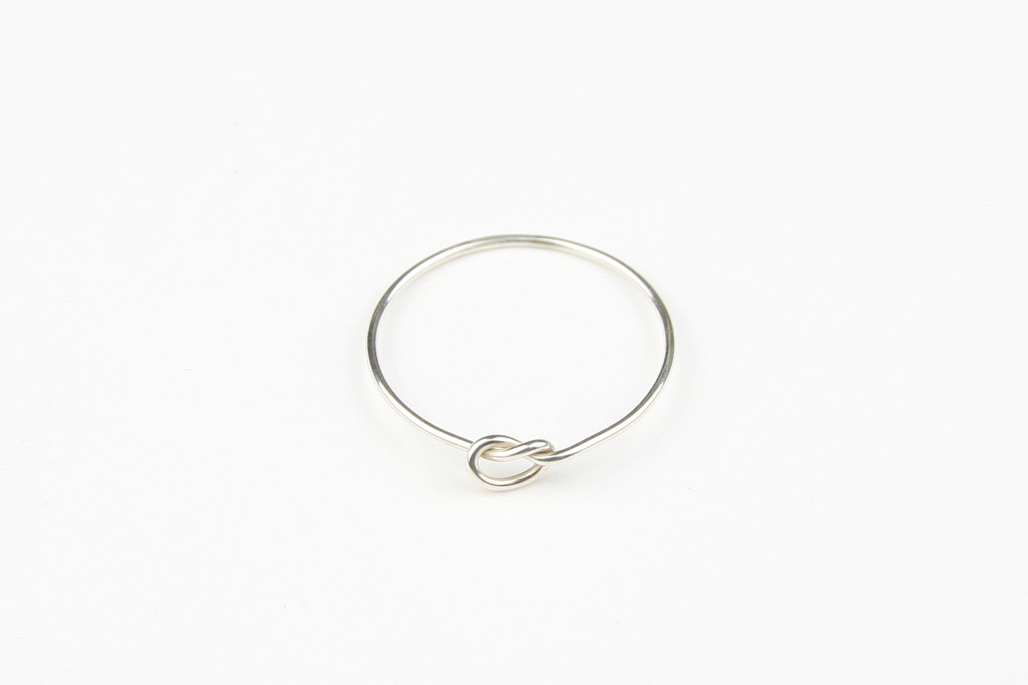 "Ring ""Knot"" Silber"