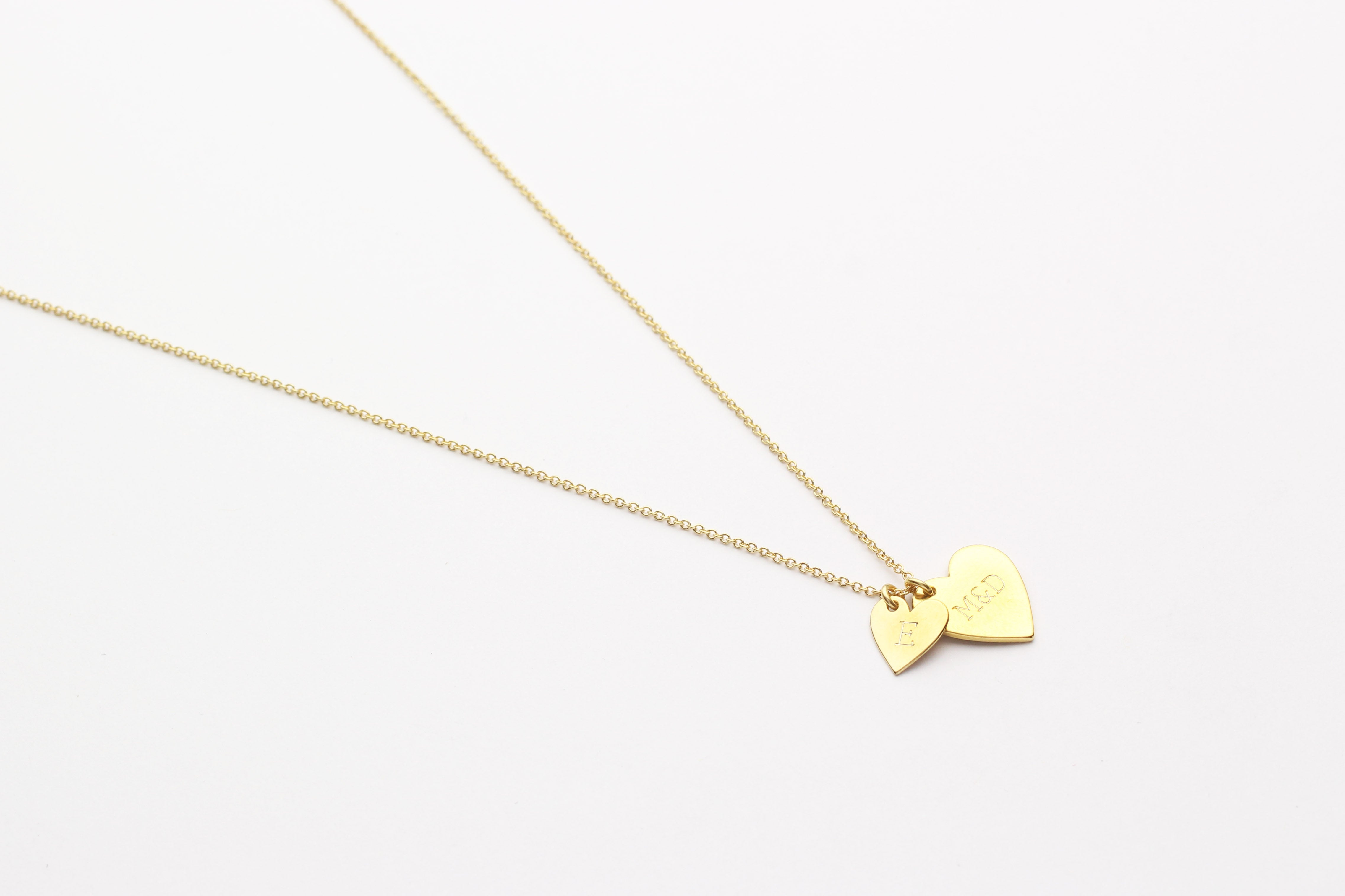 "Kette ""Double Heart"" gold"