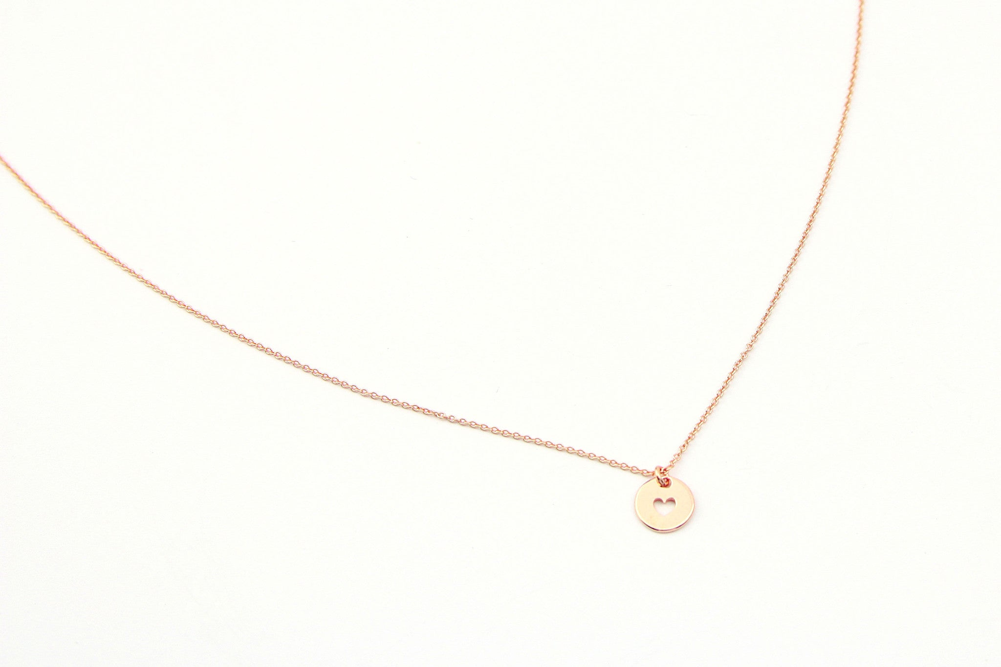 jewelberry necklace kette love token anchor chain rose gold plated sterling silver fine jewelry handmade with love fairtrade