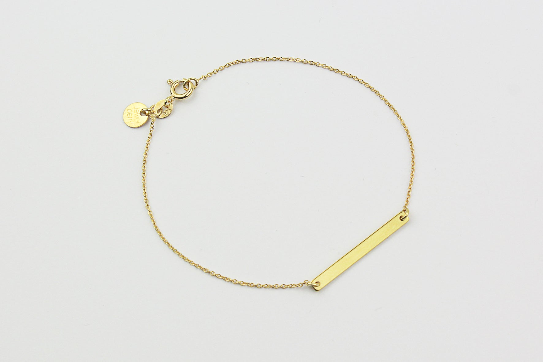 "Armband ""Medium Bar"" gold"