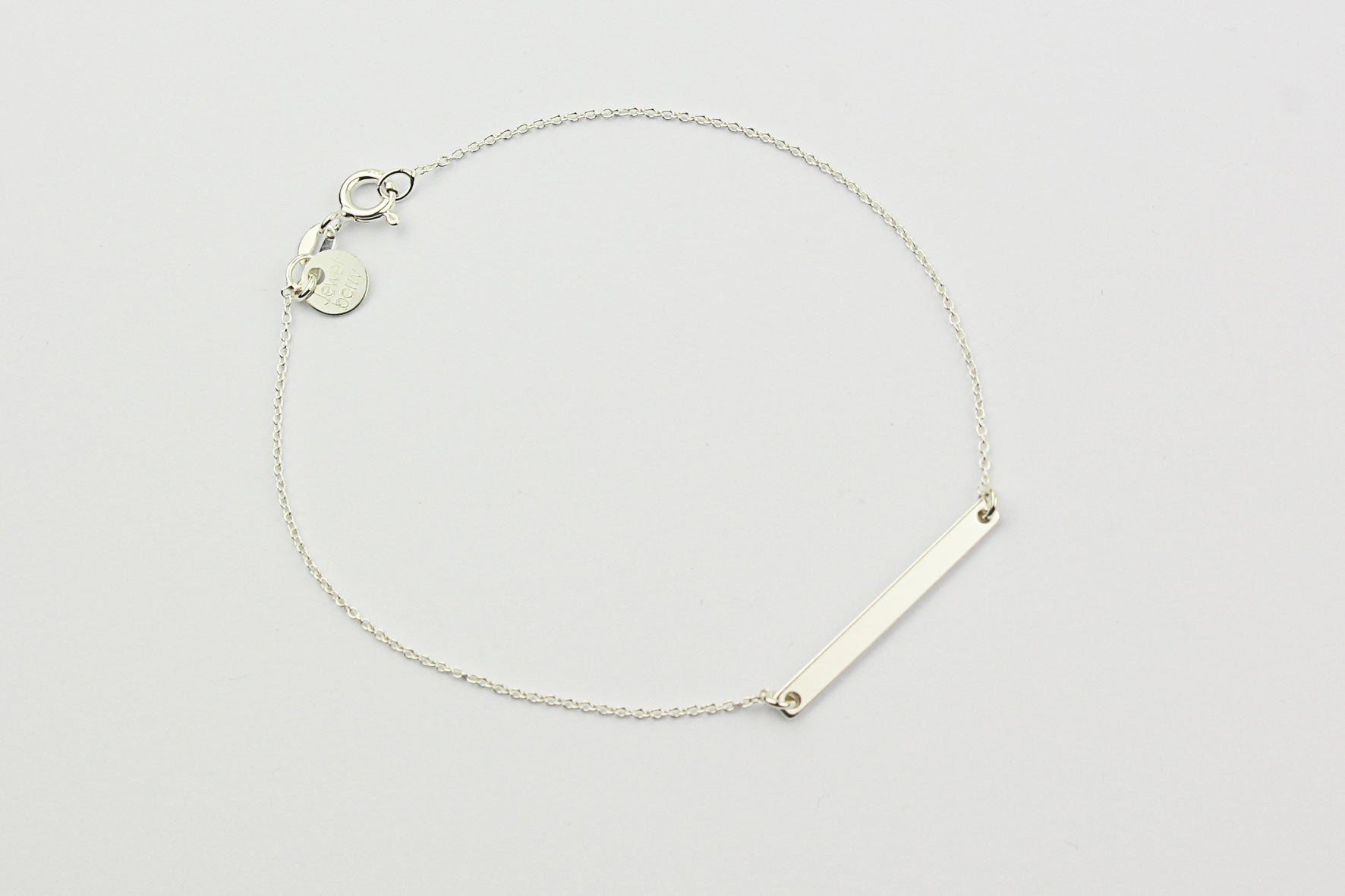 "Armband ""Medium Bar"" silber"