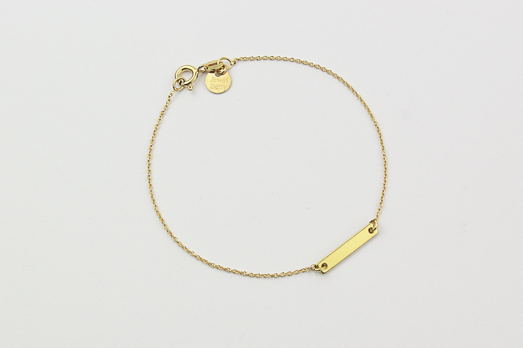 "Armband ""Small Bar"" gold"