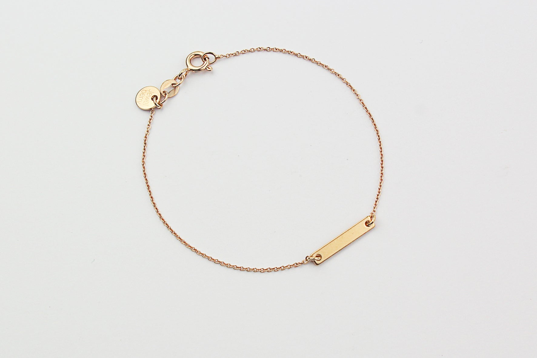 ....Armband SMALL BAR Sterling Silber rosé vergoldet..Bracelet SMALL BAR Sterling Silver rose gold plated....
