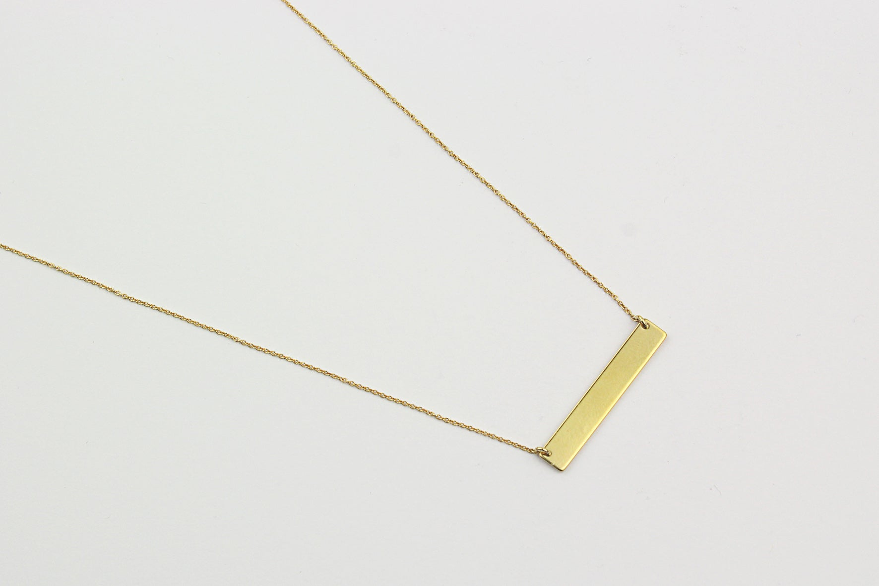 "Kette ""Large Bar"" gold"